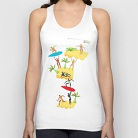holiday Tank Tops featuring Holiday by Lazy bEE