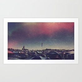 Bonnaroo Art Print