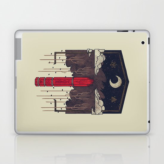 The Lost Obelisk Laptop & iPad Skin