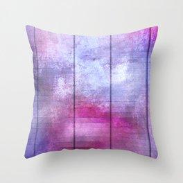 Panels - Crisp Winter Throw Pillow