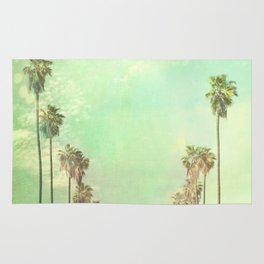 Los Angeles. La La Land photograph Rug