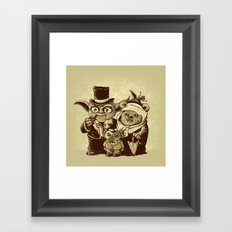 a (very) long time ago Framed Art Print