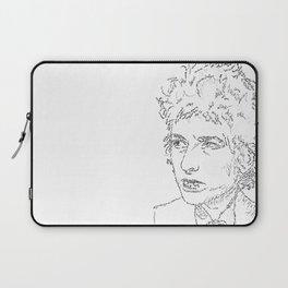 Bob Dylan WordsPortrait  Laptop Sleeve