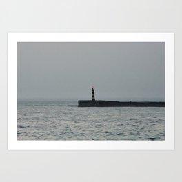 friend of fishermen Art Print