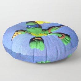 BLUE MASK NINJA Floor Pillow