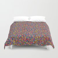 mosaic Duvet Covers featuring Mosaic by Juliana Kroscen