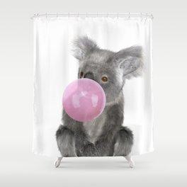 Bubble Gum - Koala Shower Curtain