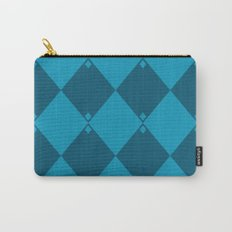 Blue-Green Diamond Formation Carry-All Pouch
