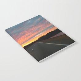 December Sunrise Notebook