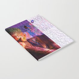Blonde Abstract Album Cover Notebook