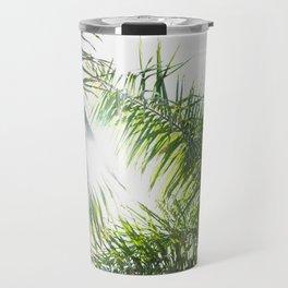 Summer Palm Trees - Modern Minimalist Travel Mug