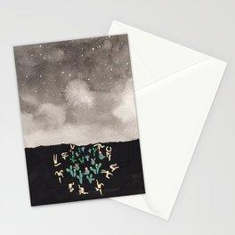 Midnight Desert Stationery Cards