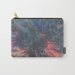 Glitch Wave Carry-All Pouch