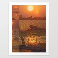Follow the Sunshine Art Print