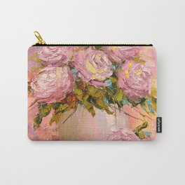 A bouquet of delicate roses Carry-All Pouch