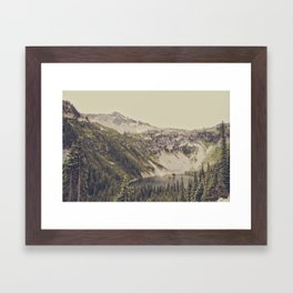 Mountain Lake Framed Art Print