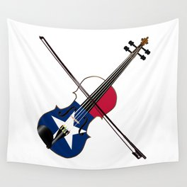Texas Fiddle Wall Tapestry