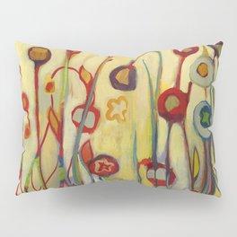 Unfolded Pillow Sham