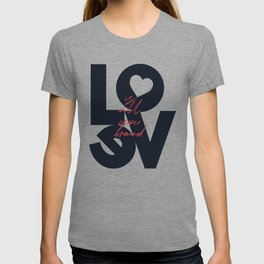 All you need is love, The Beatle music quote, Valentine's Day, just married, couples gift, present T-shirt