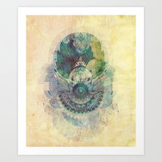Washed In Time Art Print