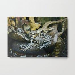 Dragon in Nara Metal Print