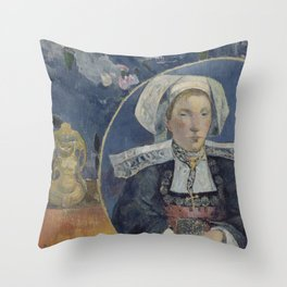 The Beautiful Angèle Throw Pillow
