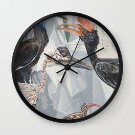 Hornbill Exhibit Wall Clock