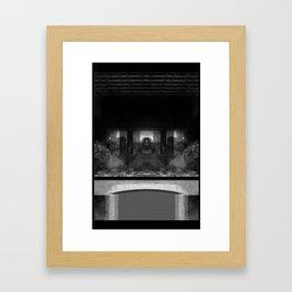 Alien Supper Framed Art Print