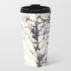 Magnolia Tree Metal Travel Mug