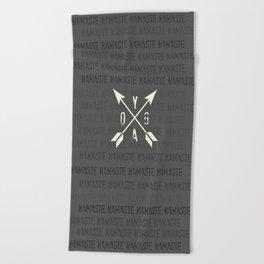 Namaste Beach Towel