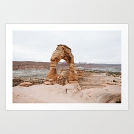 Early Morning at Delicate Arch Art Print