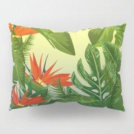 Leaf me Tropical Pillow Sham