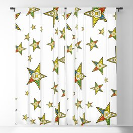 The Guiding Light (Order of the Eastern Star) Blackout Curtain