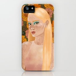 electric bloom iPhone Case