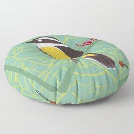 Bicho Feo - Bienteveo Floor Pillow
