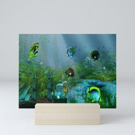 Fish Tank Aquarium Mini Art Print
