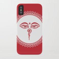 Swayambhu Eyes iPhone X Slim Case