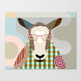 The Shepherd Sheep Canvas Print