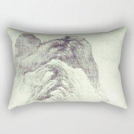 Looking back at Denjiro Rectangular Pillow
