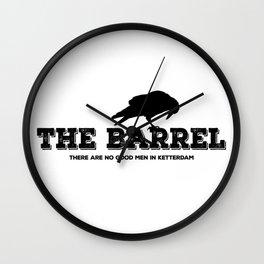 The Barrel Wall Clock