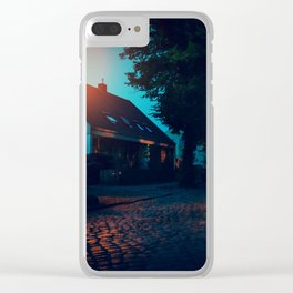 [Berlin] At night Clear iPhone Case