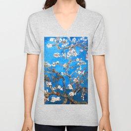 Vincent Van Gogh - Almond Blossom Unisex V-Neck