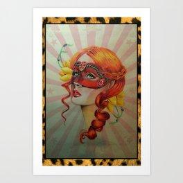 Venetian Girl Art Print