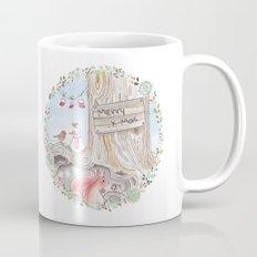 A woodland Christmas Mug