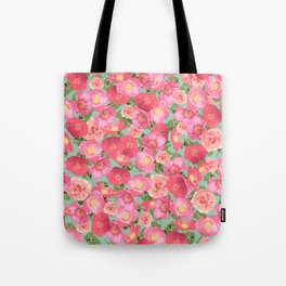 Flora Collage I Tote Bag