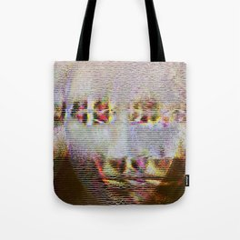 Glitch Girl Tote Bag