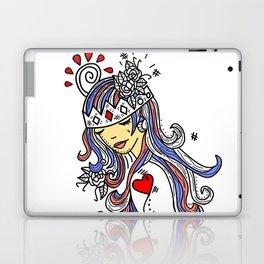 Crown of Pain - An Introduction Blue - Zine Laptop & iPad Skin