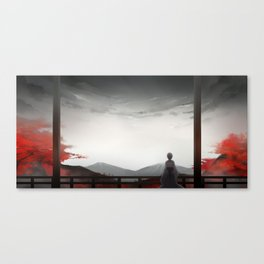 Unrestrained Canvas Print