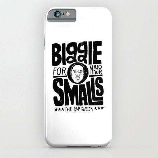 Biggie Smalls for Mayor iPhone & iPod Case