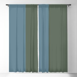 Parable to Behr Blueprint Color of the Year and Accent Colors Vertical Stripes 4 Blackout Curtain